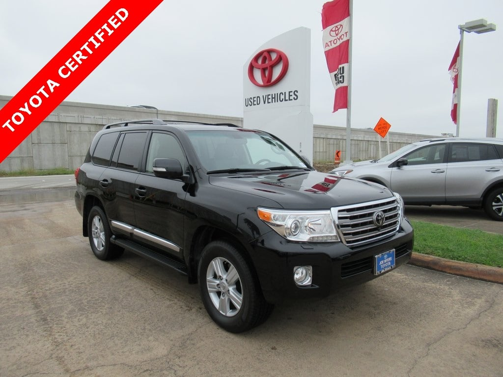 Photo Certified 2014 Toyota Land Cruiser Base SUV 4WD For Sale