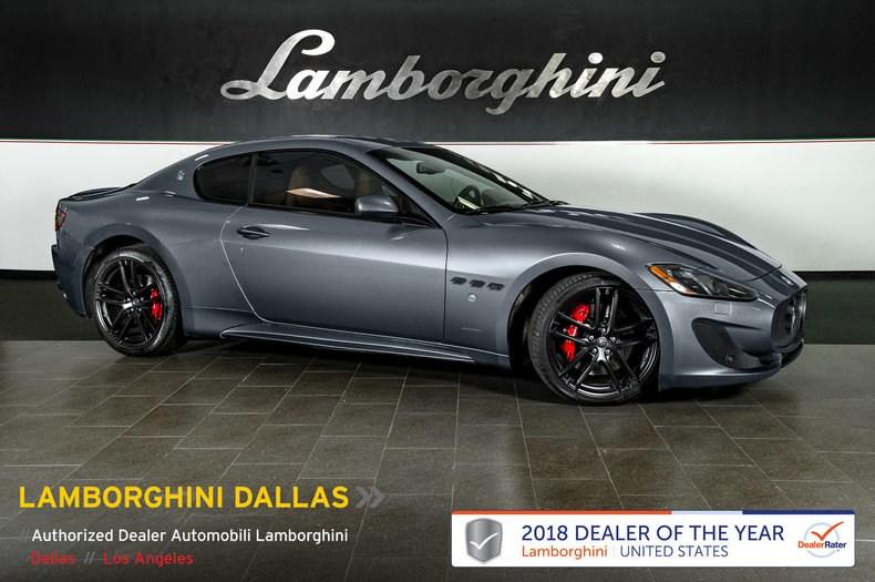 Photo Used 2017 Maserati Gran Turismo Sport For Sale Richardson,TX  Stock LT1195 VIN ZAM45VLA2H0236550