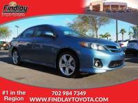 Certified Pre-Owned 2013 Toyota Corolla 4dr Sdn Auto S FWD 4dr Car