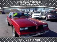 1982 Oldsmobile Cutlass Supreme Base