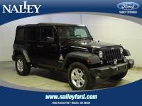 Pre-Owned 2014 Jeep Wrangler Unlimited Sport 4WD Convertible