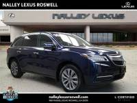 Pre-Owned 2016 Acura MDX w/Tech/Entertainment FWD Sport Utility