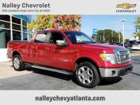 Pre-Owned 2012 Ford F-150 Lariat 4WD Crew Cab Pickup
