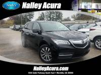 Pre-Owned 2015 Acura MDX Tech Pkg FWD Sport Utility