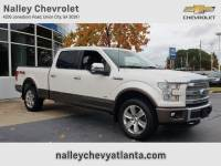 Pre-Owned 2015 Ford F-150 Platinum 4WD Crew Cab Pickup