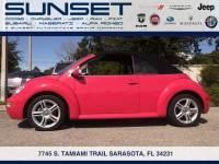 Used 2004 Volkswagen New Beetle Convertible GLS Turbo Convertible for sale in Sarasota FL