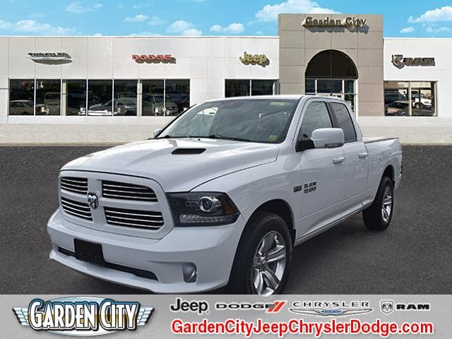 Photo Certified Used 2015 Ram 1500 Sport 4WD Quad Cab 140.5 Sport For Sale  Hempstead, Long Island, NY