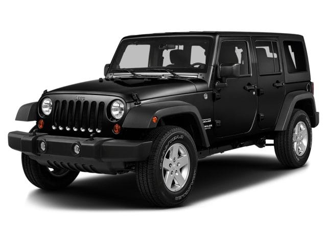 Photo Used 2016 Jeep Wrangler Unlimited 4WD Black Bear Ltd Avail Sport Utility in Woodbury Heights