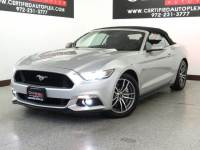 2015 Ford Mustang GT PREMIUM CONVERTIBLE REAR CAMERA HEATED COOLED LEATHER SEATS K