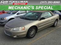 Pre-Owned 2002 Chrysler Sebring LXI FWD Convertible