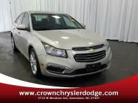 Pre-Owned 2016 Chevrolet Cruze Limited LTZ Auto Sedan in Greensboro NC
