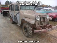 1963 Willys Jeep Wagon Base