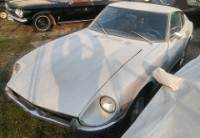 1971 Datsun 240Z. Silver and Black. Matching Engine. Solid car.