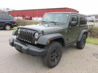 2015 Jeep Wrangler Willys Wheeler Edition 4x4 Willys Wheeler Edition SUV for sale Near Cleveland