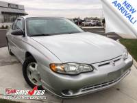 Pre-Owned 2001 Chevrolet Monte Carlo SS FWD 2D Coupe