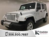 Certified Pre-Owned 2014 Jeep Wrangler Unlimited Sahara | Navigation | Remote Start 4WD Convertible