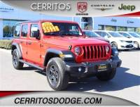 Used 2018 Jeep Wrangler Unlimited Sport 4x4 for Sale in Cerritos