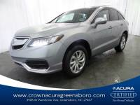 Pre-Owned 2018 Acura RDX w/Technology Pkg in Greensboro NC