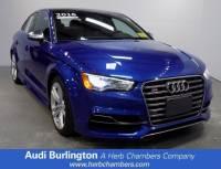 2016 Audi S3 Premium Plus Sedan in Burlington MA