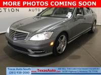 2013 Mercedes-Benz S-Class S 550 Rear-wheel Drive