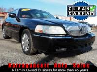 2007 Lincoln Town Car Designer Series Black on Black Moonroof Only 72K