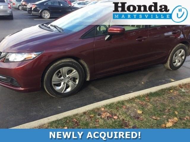 Photo Certified 2015 Honda Civic LX Sedan