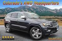 2015 Jeep Grand Cherokee Overland 4x4 SUV in Boulder CO
