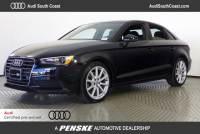 Certified Pre-Owned 2016 Audi A3 1.8T Premium Sedan in Santa Ana, CA