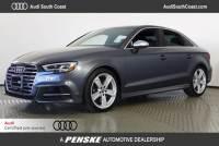 Certified Pre-Owned 2017 Audi S3 2.0T Premium Plus Sedan in Santa Ana, CA