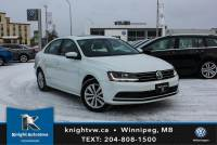 Certified Pre-Owned 2017 Volkswagen Jetta Sedan Wolfsburg Edition w/ Sunroof 0.9% Financing Available OAC. FWD 4dr Car