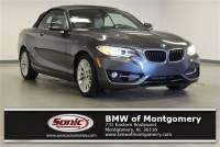Certified Used 2016 BMW 228i Convertible in Montogomery, AL