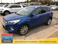 Certified 2017 Ford Escape Titanium SUV I-4 cyl in Richmond, VA