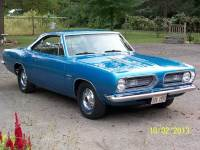 1968 Plymouth Barracuda / Cuda RESTORED CUDA - ORIGINAL 318 V8- ELECTRIC BLUE METALLIC