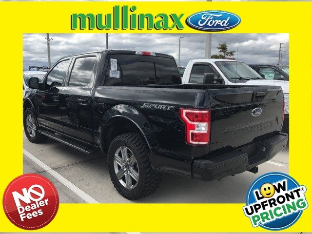 Photo Used 2018 Ford F-150 XLT Sport W NAV, 20 Wheels, Center Console Truck SuperCrew Cab V-8 cyl in Kissimmee, FL