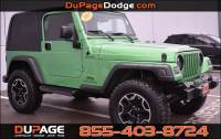 PRE-OWNED 2005 JEEP WRANGLER SPORT 4WD