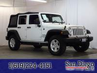 Certified 2014 Jeep Wrangler Unlimited Sport 4x4 SUV in San Diego