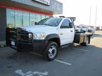 2008 Dodge 4500 2wd Diesel 6-Speed Gin Pole Flatbed