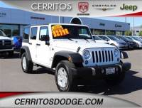 Used 2018 Jeep Wrangler JK Unlimited Sport 4x4 for Sale in Cerritos