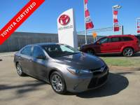 Certified 2016 Toyota Camry SE Sedan FWD For Sale