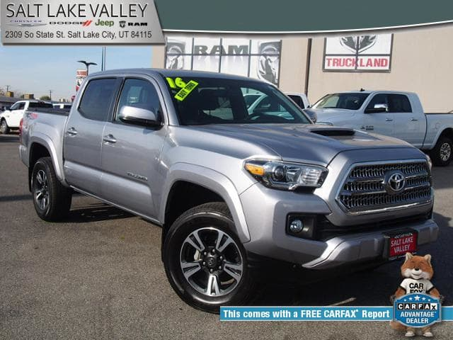 Photo Used 2016 Toyota Tacoma 4WD Double Cab V6 AT TRD Off Road Truck For Sale in Salt Lake City, UT