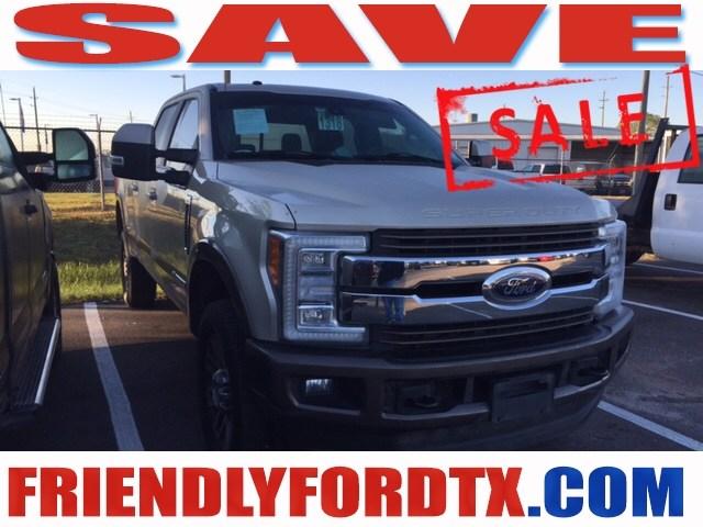Photo Used 2017 Ford F-250SD King Ranch Truck Power Stroke V8 DI 32V OHV Turbodiesel for Sale in Crosby near Houston