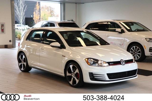 Photo Used 2017 Volkswagen Golf GTI S 4-Door Hatchback for Sale in Beaverton,OR