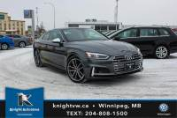 Pre-Owned 2018 Audi S5 Coupe Quattro Technik w/360 Cam/B&O Sound/Massage Seats/Heads Up Dis AWD 2dr Car