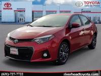 Used 2016 Toyota Corolla S Plus Sedan Front-wheel Drive for Sale in Riverhead, NY