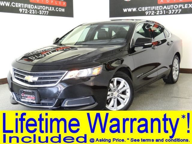 Photo 2017 Chevrolet Impala LT 3.6L V6 LEATHER SEATS APPLE CARPLAY ANDROID AUTO DUAL POWER SEATS KEYLES