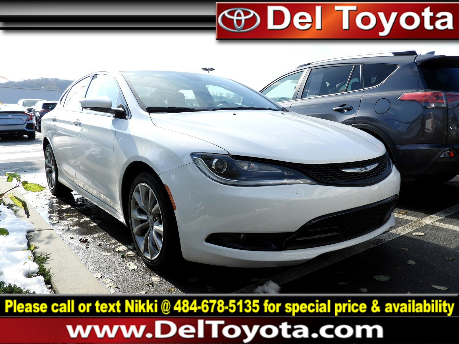 Photo Used 2015 Chrysler 200 S For Sale in Thorndale, PA  Near West Chester, Malvern, Coatesville,  Downingtown, PA  VIN 1C3CCCDG9FN627745