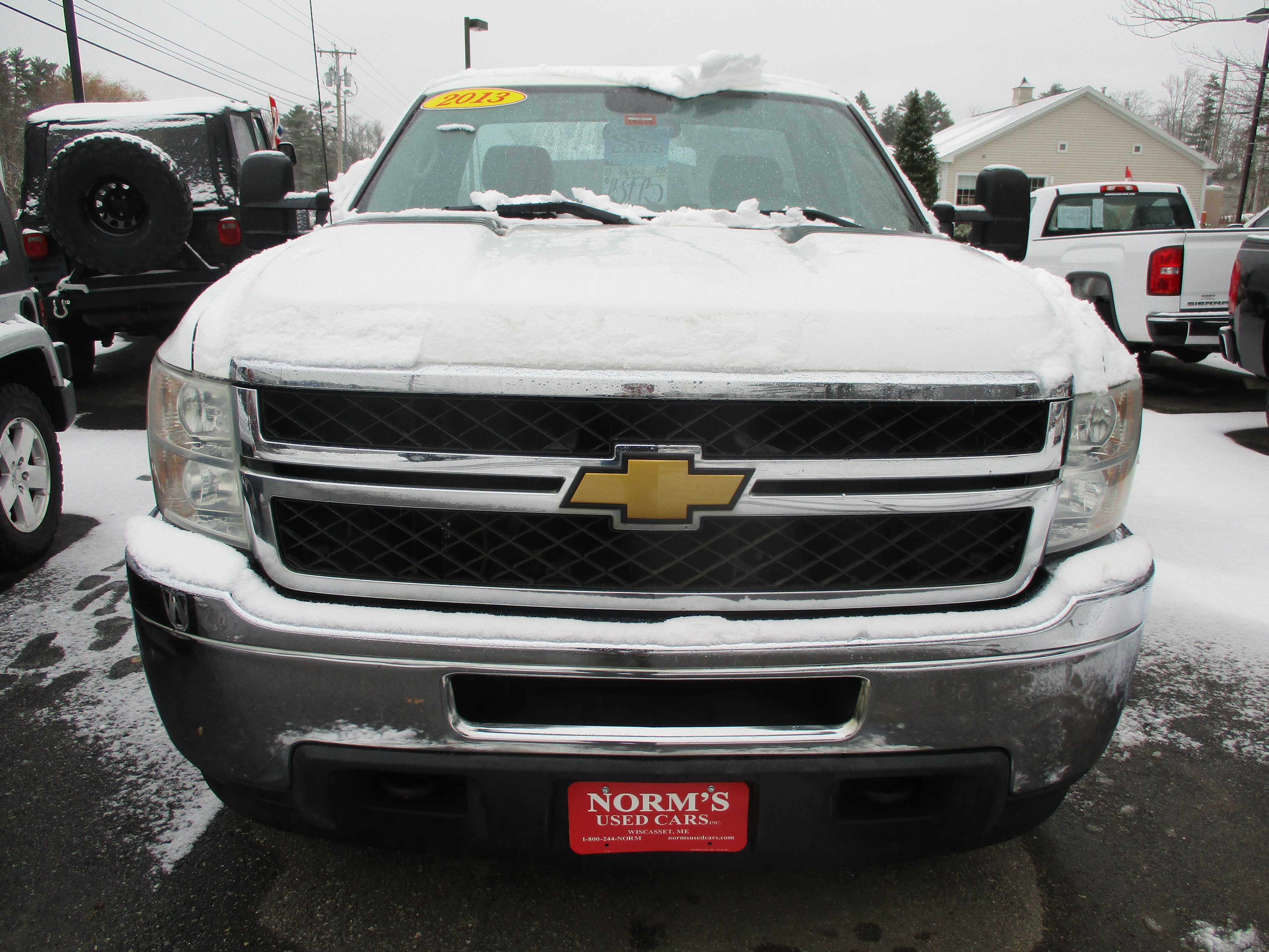 Photo Used 2013 Chevrolet Silverado 2500HD For Sale  Wiscasset ME