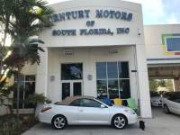 2004 Toyota Camry Solara SE Leather Seats Power Convertible Top Clean CarFax