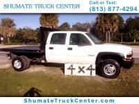 2001 Chevrolet Silverado 3500 crew cab 4x4 flatbed