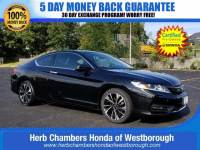 Certified Pre-Owned 2017 Honda Accord EX-L Coupe near Westborough, MA